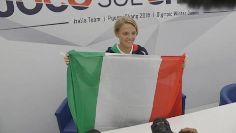 إيطاليا تختار متزلجة لحمل علمها للمرة الأولى