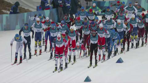 Men's Skiathlon 30km - Cross-Country Skiing | PyeongChang 2018 Replays