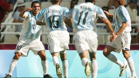 Carlitos Tevez awesome tournament | Athens 2004