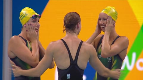 Women's 4X100 Freestyle Relay Final | Rio 2016 Replays
