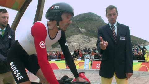 Cancellara wins Time Trial gold