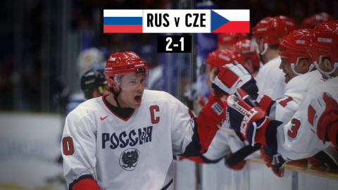 RUS v CZE, Men's Ice Hockey (Group D) | Nagano 1998 Replays