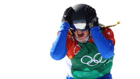 How snowboarder Michela Moioli came back from major injury to Olympic gold