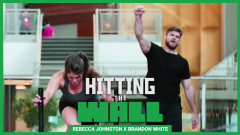 Rebecca Johnston stuns @Brandon_Myles with her Ice Hockey champion workout