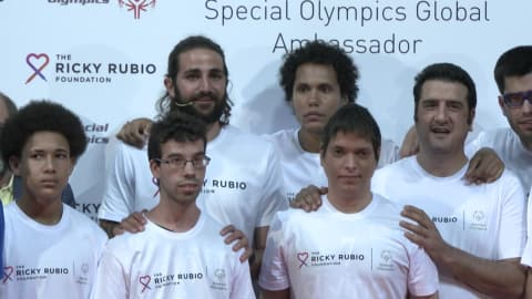 A new role for Rubio with the Special Olympics