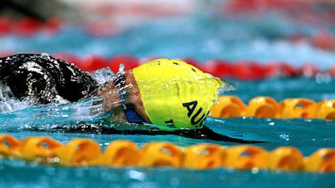 Un increíble Thorpe mejora el récord mundial de los 400 m estilo libre
