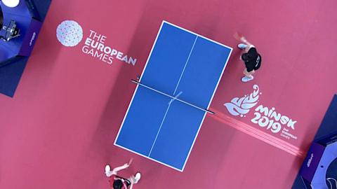 Damen Einzel Finals | Tischtennis - Europaspiele - Minsk