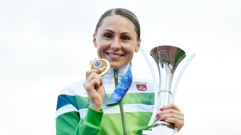 Laura Asadauskaite wins the UIPM Pentathlon World Cup Final in Tokyo