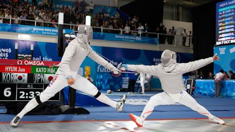 Women's Foil & Men's Sabre - Fencing | YOG 2018 Highlights