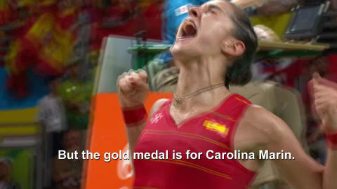 Quickfire: Badminton gold medalist tries out her best English accent