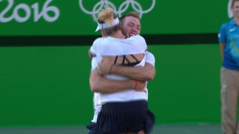 Mattek-Sand and Sock win gold in Tennis Mixed Doubles