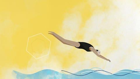 Wie eine ägyptische Schwimmerin die Welt inspirierte