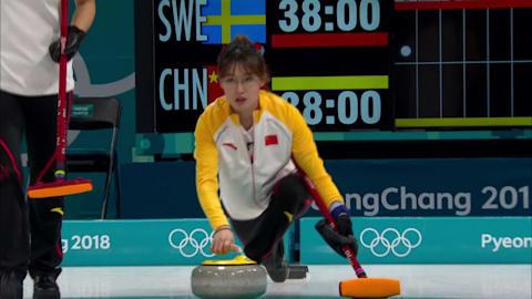 SWE v CHN (Poule) - Curling Femmes | Replay de PyeongChang