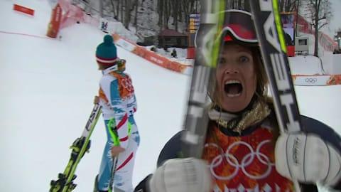 Best of Ladies' Super Combined Alpine Skiing | Sochi 2014