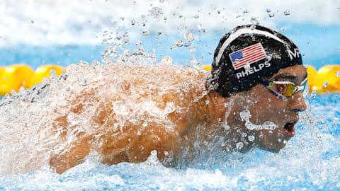 Michael Phelps: Seine Rio 2016 Medaillen-Rennen
