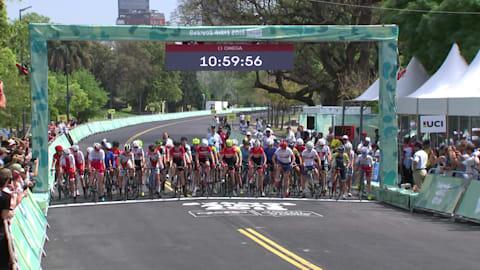 Командная гонка, критериум - Велоспорт | Лучшие моменты ЮОИ-2018