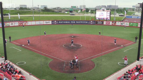 Team USA vs USSSA Pride | National Pro Fastpitch - Rosemont