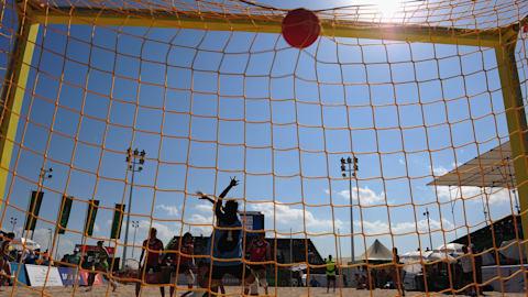 Finals - Beachhandball   Afrikanische Strandspiele - Sal