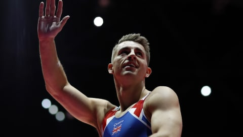 Whitlock misses being all-around gymnast, keeping options open