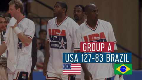 USA vs Brésil (Groupe A) | Dream Team Barcelone '92