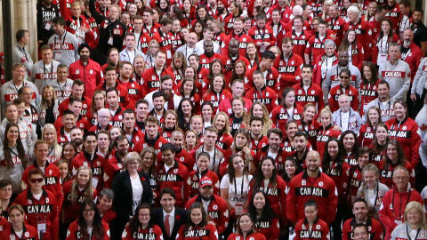 Team Canada in the corridors of power