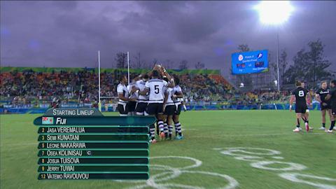 Fiyi triunfa sobre Nueva Zelanda en el Rugby 7 con una buena defensa