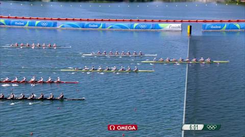 EUA conquistam a medalha de ouro no Oito com feminino