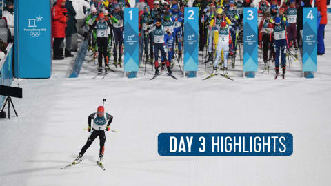 Day 3 Highlights | Pyeongchang 2018