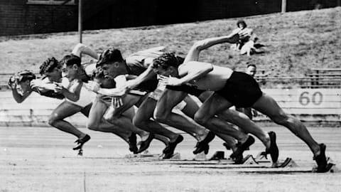 レミギノ、ヘルシンキ1952で大接戦の100m決勝制す