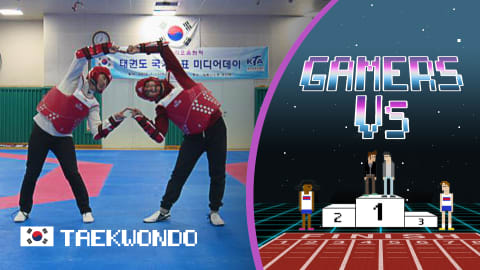 Gamers Bigmin & Chany double team taekwondo star Lee Dae Hoon