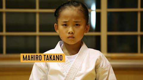 Genius Karate Girl: Mahiro Takano
