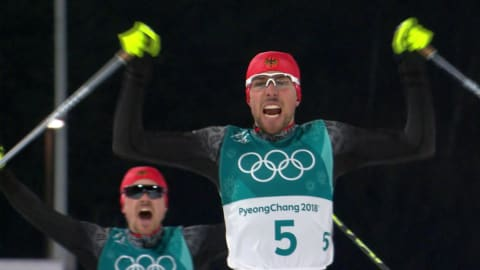 Large Hill 10km, Cross Country - Nordic Combined | PyeongChang 2018 Replays