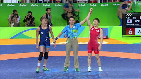 Saori YOSHIDA (JPN) besiegt Betzabeth ARGUELLO VILLEGAS (VEN), 6-0