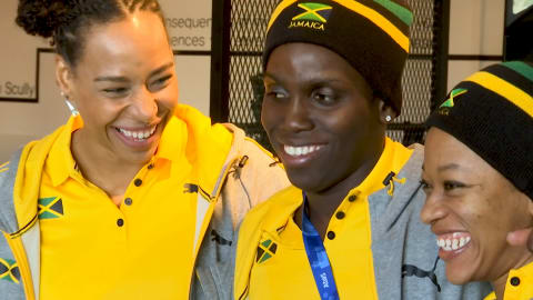 Cool re-runs! Jamaican women take the bobsleigh baton