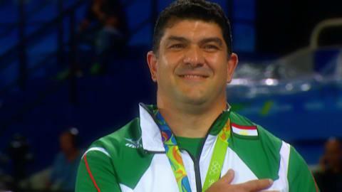 Himno nacional: lo mejor de Tayikistán en Río