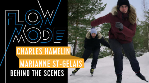 Behind the Scenes: Charles Hamelin and Marianne St-Gelais