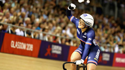 From basketball hopeful to track cycling champ: the incredible story of Mathilde Gros