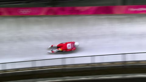 Heat 1 & Heat 2 - Men's Luge | PyeongChang 2018 Replays
