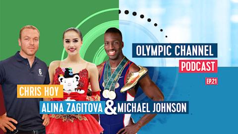 Olympic Channel Podcast [Ep21]:Alina Zagitova, Michael Johnson e Chris Hoy