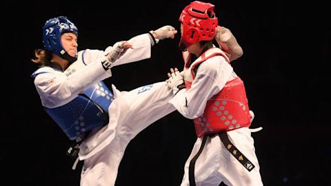 Semis poomsae por equipo (MyF) | Taekwondo - Universiada de Verano - Nápoles