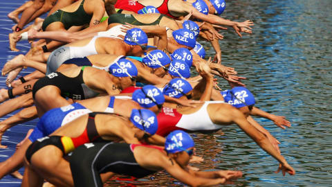 The beauty of Triathlon