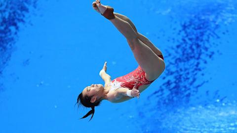3м, квалификация, женщины | Прыжки в воду - Чемпионат мира FINA - Кванджу