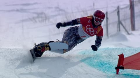 여자 평행대회전 - 스노보드 | 평창 2018 하이라이트