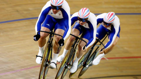 The beauty of Men's Track Cycling