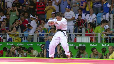 El judo en Río 2016: 57Kg femenina - Combate por el oro