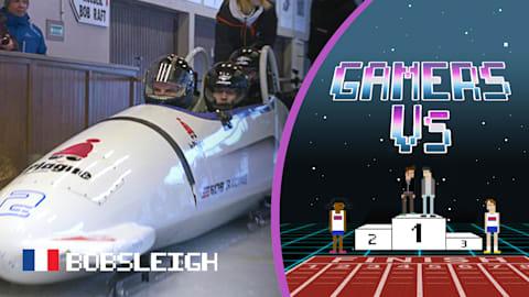 Les Gamers As2Pik et Nemsworld découvrent l'adrénaline du bobsleigh