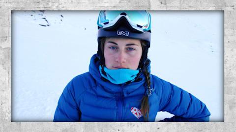 Ekaterina ist die einzige Snowboarderin aus Moskau des Nationalteams