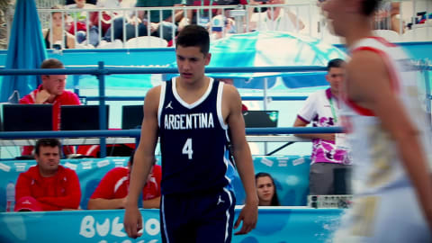 Basketball 3x3 Buenos Aires 2018 – M. Giordano (ARG)