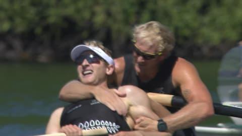 Dupla neozelandesa conquista o ouro no Dois sem masculino