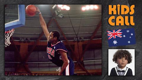 Vince Carter's spectacular dunk at Sydney 2000